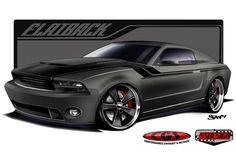 exotic mustangs | CGS Flatback 2010 Mustang | Ford Mustang News