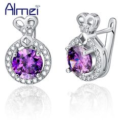 Find More Stud Earrings Information about Chic Earrings Rhinestones Silver Earings 925 Women Pendientes Mujer Brincos Para As Mulheres Grandes 2015 Bisuteria Ulove R747,High Quality earrings bar,China earrings ads Suppliers, Cheap earrings tragus from Almei Jewelry Store on Aliexpress.com