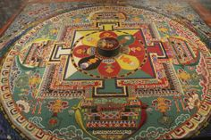 Tibetan Mandalas - Mandalas For The Soul Tibetan Mandala, Buddhist Traditions, Psych, Temple, Restaurant, Traditional, School, Wall, Mandalas