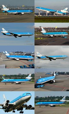 all 10 KLM's MD-11