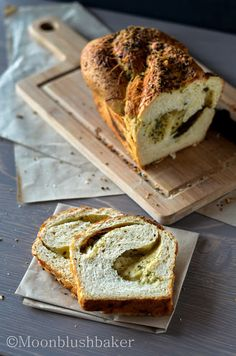 Bread uses/-/Twisted Parmesan herb loaf. | The Moonblush Baker