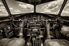 Cockpit of a Metal Print by Mike Burgquist. All metal prints are professionally printed, packaged, and shipped within 3 - 4 business days and delivered ready-to-hang on your wall. Choose from multiple sizes and mounting options. Ww2 Aircraft, Military Aircraft, Airplane Art, Airplane Fighter, Airplane Nursery, Ww2 Planes, Thing 1, Nose Art, Aviation Art