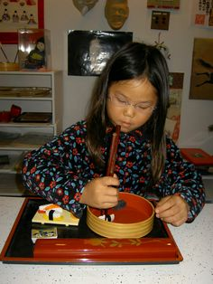 Inspired Montessori and Arts at Dundee Montessori: Japanese Ideas
