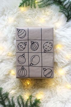 5 Kraft paper Christmas gift wrap ideas | Growing Spaces