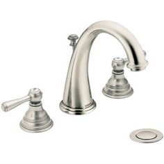 Moen MT6125AN/9000 Kingsley 8'' Widespread Bathroom Faucet - Antique Nickel Kids bath