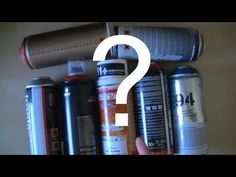 Graffiti sur mur : peinture en spray, quelles bombes choisir pour le graff ? [HD] - YouTube