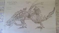 Horizon Zero Dawn - Thunderjaw Fan Art (Artist: RezonantVoid Source: http://www.deviantart.com/art/Thunderjaw-HORIZON-ZERO-DAWN-647048834) #horizonzerodawn #fanart