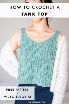 Crochet Blouse, Knit Crochet, Learn To Crochet, Crochet Sweaters, Crochet Socks, Crochet Bikini, Crochet Summer Tops, Crochet Womens Tops, Diy Crochet Crop Top