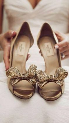 Fancy That! Events, Bridal Shoes, Valentino, and that necklace! Bow Shoes, Me Too Shoes, Bridal Shoes, Wedding Shoes, Wedding Bride, Wedding Dresses, Uggs, Only Shoes, Beautiful Shoes