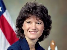 Sally Ride, first American woman in Space. 1951 - 2012. Now you may take flight to the stars...