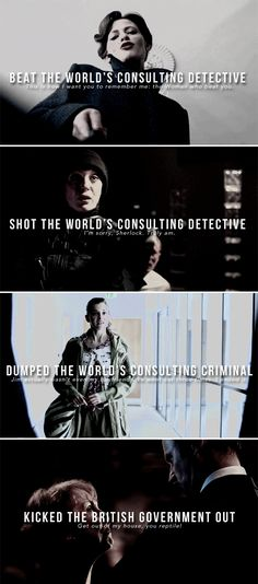 The Women of Sherlock.