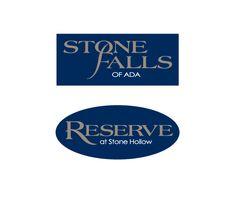 Logos - Reserve & Stone Falls