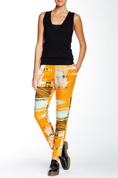 Brushstroke Pull-On Pant by L.A.M.B. on @HauteLook