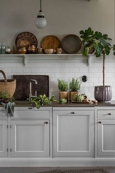 Why is Scandinavian kitchen design so popular? To begin with, homeowners are exempt .Why is Scandinavian kitchen design so popular? For starters, homeowners free their kitchens from excess material to maximize functionality. In traditional Scandinavian Open Plan Kitchen, New Kitchen, Kitchen Tools, Kitchen Ideas, Cute Kitchen, Awesome Kitchen, Open Shelf Kitchen, Wooden Shelves Kitchen, Long Kitchen