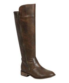 Light Brown Clayton Zip-Up Boot