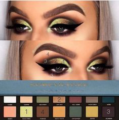 Trendy 100 Bold Makeups and Looks Trendy 100 Bold Makeups und Looks Related posts: Trendy 100 Bold Makeups und Looks Exquisite 100 Bold Makeups und Looks Makeup looks bold make up trendy ideas Trendy Makeups and Looks That Inspire Eye Makeup Steps, Eye Makeup Art, Love Makeup, Eyeshadow Makeup, Fairy Makeup, Eyeshadows, Eyeshadow Palette, Witch Makeup, Makeup Course
