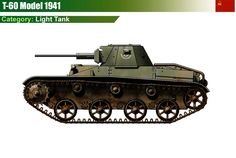 T-60 M1941 Light Tank