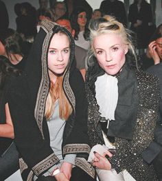 Daphne Guinness and niece Mary Charteris