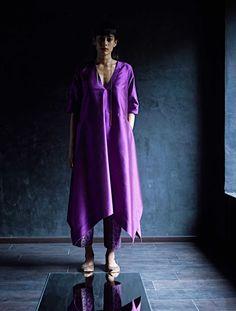 img10/11 Simple Kurtis, Stylish Kurtis, Designer Wear, Designer Dresses, Kurti Patterns, Sewing Patterns, Trendy Dresses, Indian Wear, Urban Fashion