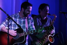 Dec 10 2016 At Bull Mansion MA with Brian Kearsley on saxaphone supporting Lee DeWyze
