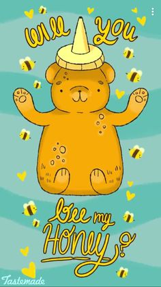 My honey 😘 Love Puns, Funny Love, Cute Food Quotes, Funny Quotes, Punny Puns, Pun Card, Cute Texts, Lovey Dovey, Cute Cards