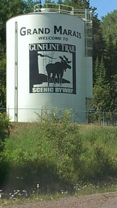 Gunflint Trail Water Tower - 1.25 miles from entrance