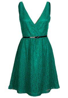 Vestido informal - Kiomi Zalando ❥ Verde esmeralda