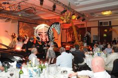 We treated our guests to a wild time at a recent corporate hospitality event for our client. After a delicious three course dinner, the surprise production of the 'Lion King' went down a storm, especially the giant giraffe! #Event #Corporatehospitality