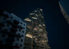 Wettbewerb für Wohnhochhaus in Lima