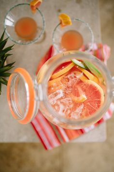 """Every year, I choose an unofficial """"drink of summer"""" that I find myselfmixing up for almost every weekend get-together at our house. The requirements for said drink are: it mustbe fruity, boozy, ..."""