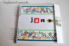simplement mOments: album scrap niño #infantil #scrapbooking