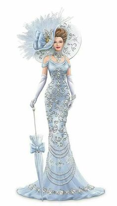 This site has lots of great stuff- vintage images, art, and DIY. Thomas Kinkade masters-painted sketches of porcelain figurines. Art And Illustration, Illustration Fashion, Fashion Illustrations, Thomas Kinkade, Vintage Pictures, Vintage Images, Fashion Art, Vintage Fashion, Fashion Design