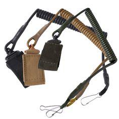 장난감 총 전술 단일 포인트 권총 권총 봄 매는 밧줄 슬링 빠른 릴리스 촬영 사냥 스트랩 육군 전투 기어