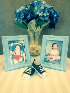 Daddy and Mommy baby pics