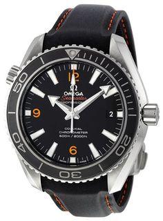 39b9f7198941 Omega Men s 232.32.42.21.01.005 Sea Master Plant Ocean Black Dial Watch  Наручные Часы