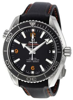 Omega Men's 232.32.42.21.01.005 Sea Master Plant Ocean Black Dial Watch