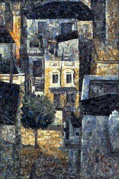 Νυχτερινά αστικά τοπία (1986 - 1990) - Δάφνη Αγγελίδου