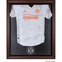 e8e429d97 Atlanta United FC Fanatics Authentic Framed Brown Team Logo Jersey Display  Case