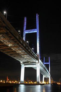 Freedom Travel, Burning Bridges, Arch Bridge, Tokyo Tower, Bridge Design, Visit Japan, George Washington Bridge, City Photography, Yokohama