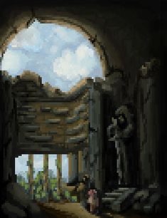 Pixel Art, Painting, Painting Art, Paintings, Painted Canvas, Drawings