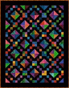 Jewel Box Quilt Pattern-Free