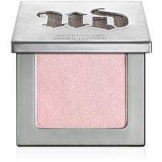 Urban Decay Afterglow 8-hour Powder Highlighter found on Polyvore featuring beauty products, makeup, face makeup, face powder, aura and urban decay