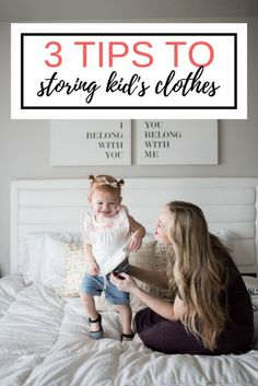 Tips and tricks to storing kid's clothing // spring clothing for babies and toddler girls // OshKosh Toddler Clothing #FieldsofFun #ad
