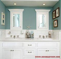 Elegant Beach Bathroom Decor