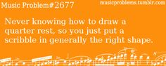 i think that this is true for all music groups! Band Nerd, Music Jokes, Music Humor, Orchestra Problems, Band Problems, Flute Problems, Band Jokes, Love Band, All Family