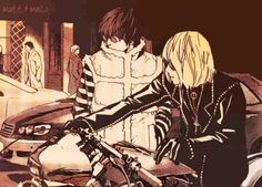 Matt and Mello from book 10 in Death Note.