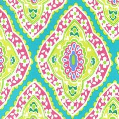 Sew Scrumptious Fabrics - Michael Miller - Bazaar (Aqua), £2.50 (http://www.sewscrumptious.co.uk/michael-miller-bazaar-aqua/)