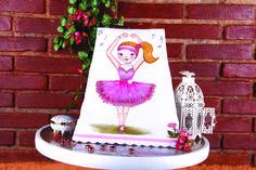 Pintura em tecido - Boneca Bailarina Artesã: Beth Mattelli  Curso técnica em Pinturas: http://www.vitrinedoartesanato.com.br/curso-tecnicas-pintura-em-tecido-vol-03-com-beth-matteelli-va7276/p