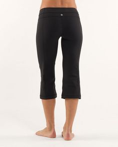 Love Lululemon's Groove Crop pants.  So well made and look great.