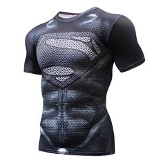 Super hero Crossfit Tops Men's Tight Skin Fit Short Sleeve Compression Shirt Bodybuilding T shirt 3D Printed Punisher Skull Tees. Yesterday's price: US $4.23 (3.48 EUR). Today's price: US $4.23 (3.47 EUR). Discount: 55%.